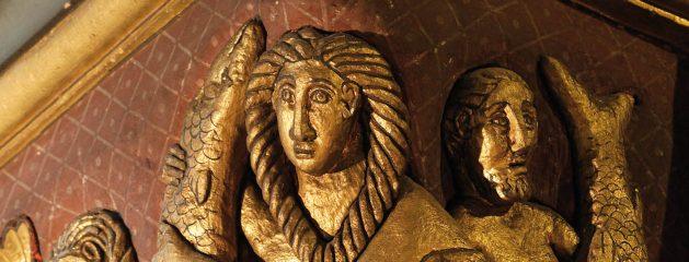 Symboles sculptés des églises romanes